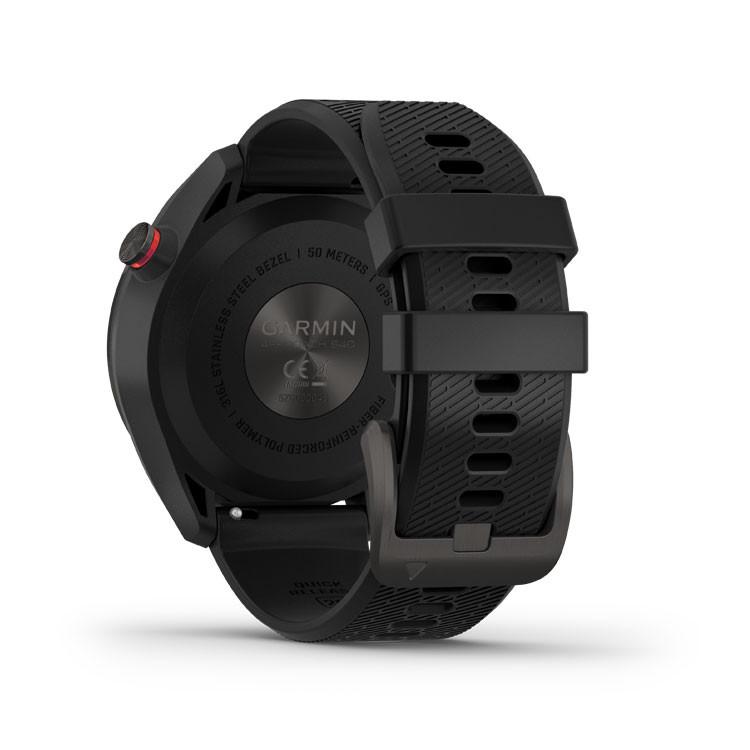Garmin - Montre GPS Approach S42 carbon - 3