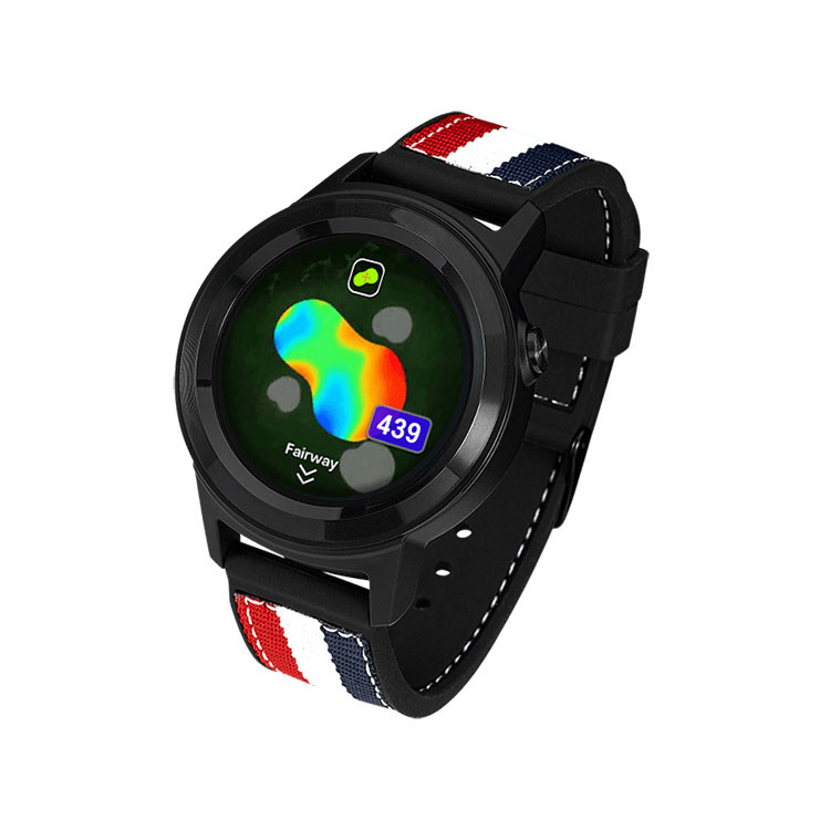 GolfBuddy - Montre de Golf GPS  AIM W11 cote