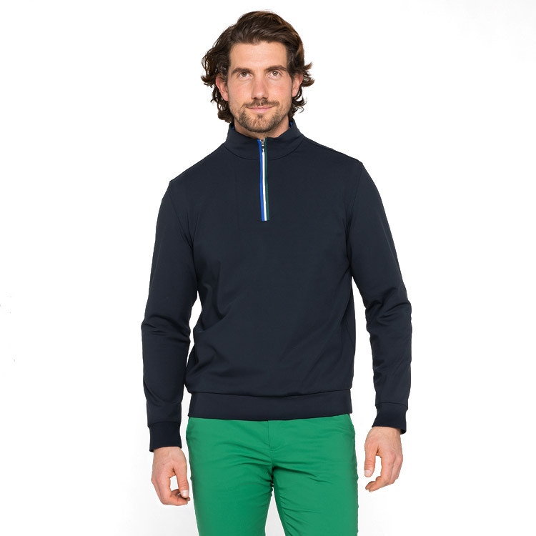 PULL 1/2 ZIP WINDSTOPPER face situation