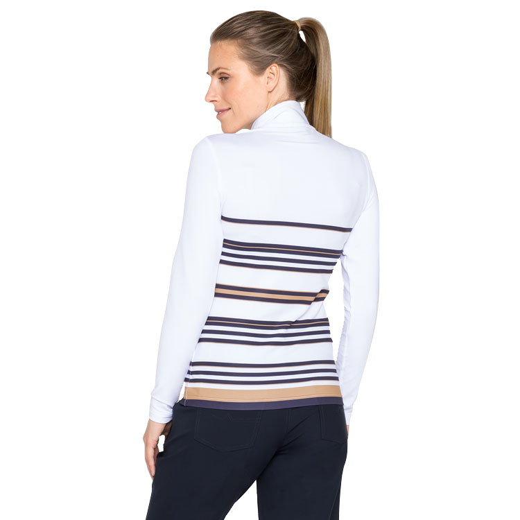 POLO FEMME 1/2 ZIP CHAUD situation situation dos
