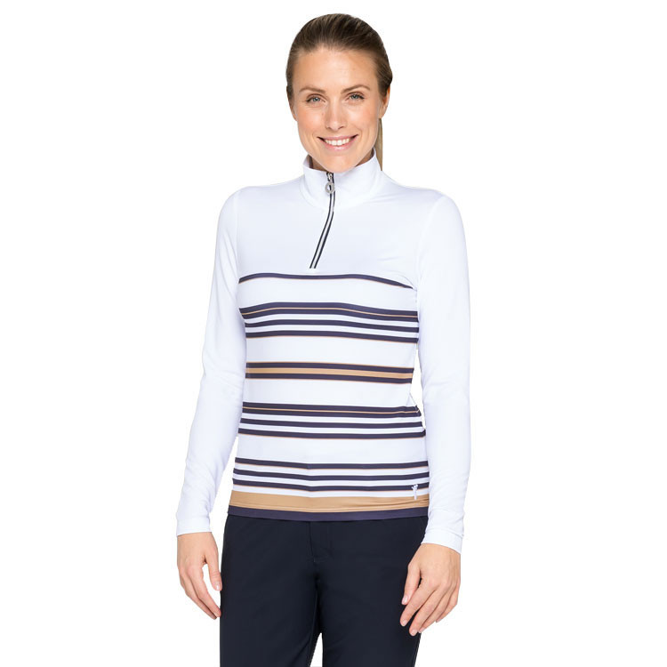 POLO FEMME 1/2 ZIP CHAUD situation face