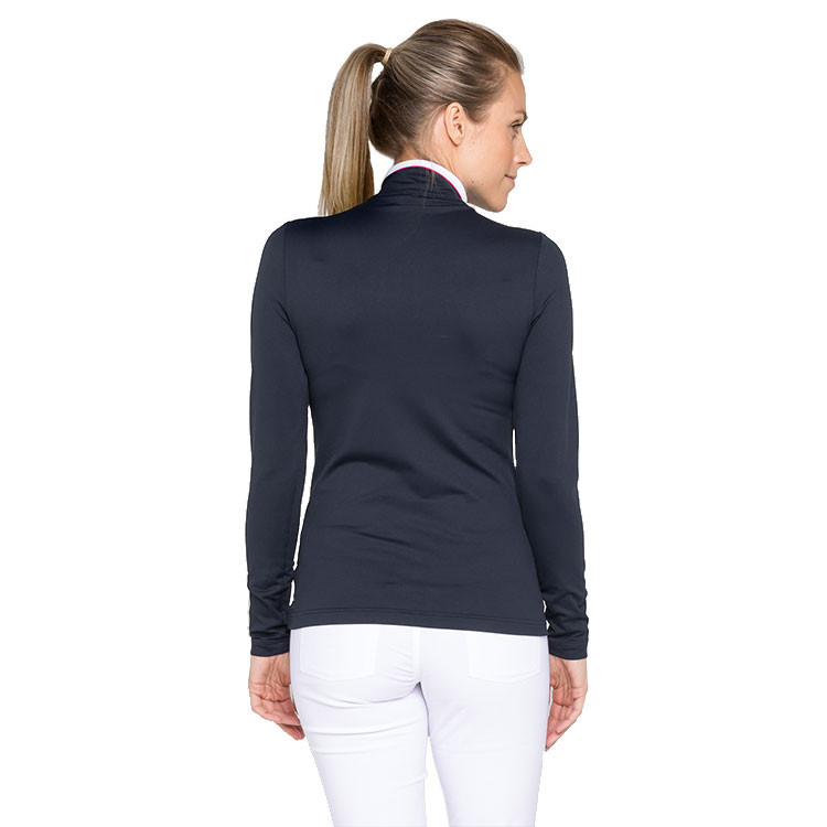 POLO FEMME 1/2 ZIP situation dos