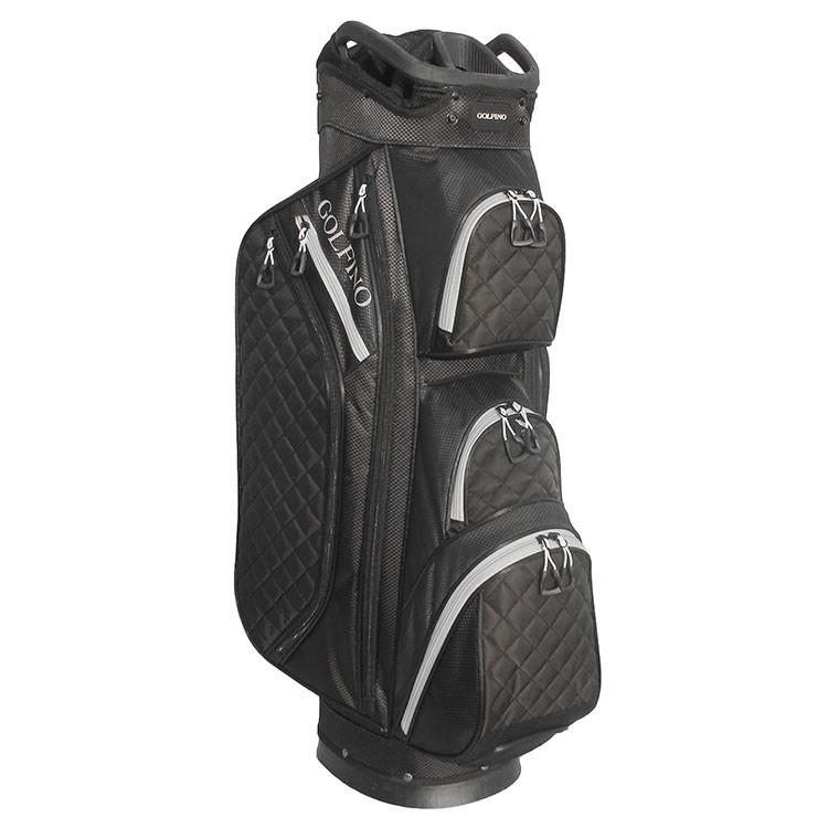 Golfino Sac Matelassé Cart Noir Golf Plus