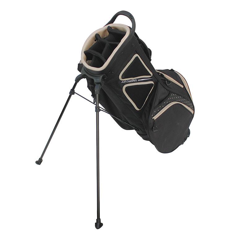 Golfino Sac à Pois Trépied Noir/Beige Golf Plus