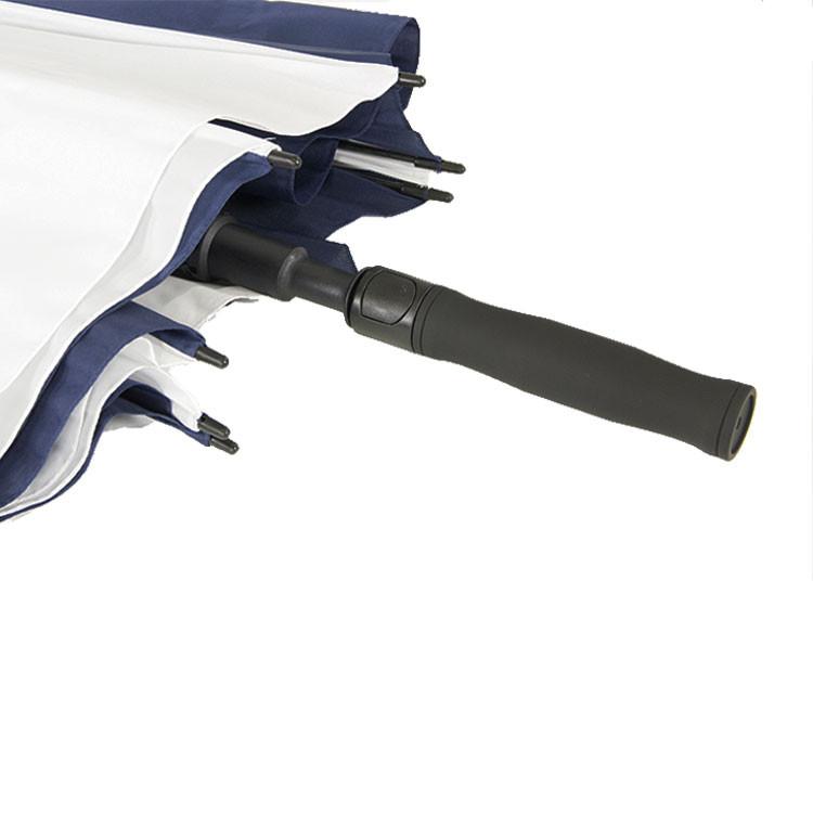 Green's Parapluie de Golf marine blanc5