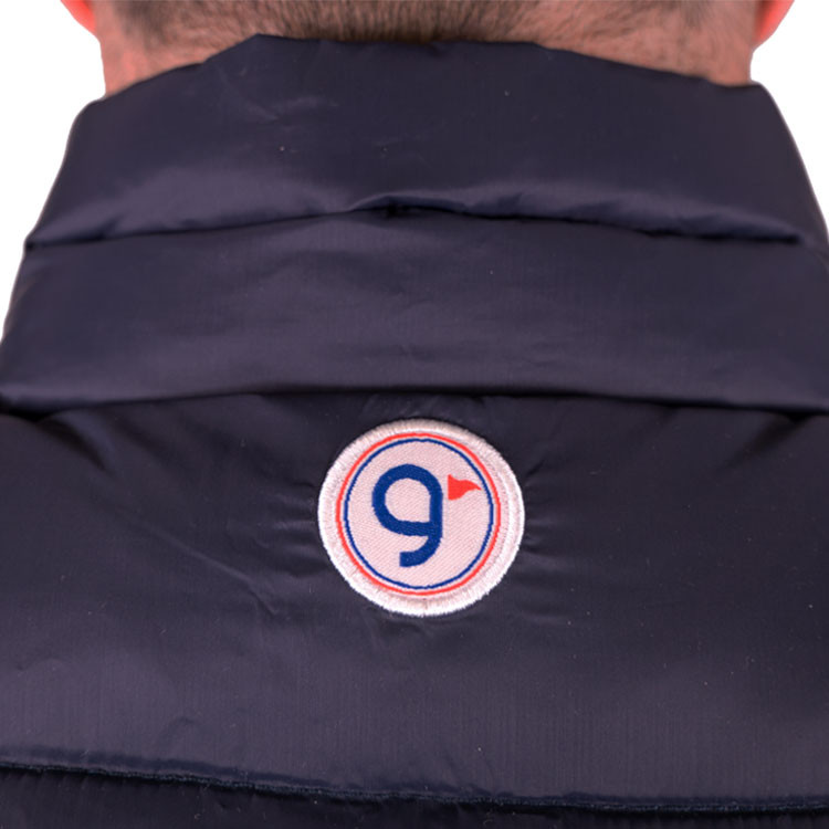 GREEN'S - GILET FRANCE SANS MANCHES BLEU - 2