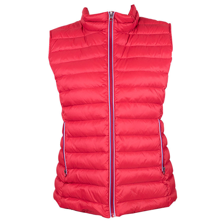 GREEN'S - GILET FRANCE SANS MANCHES ROUGE - 1