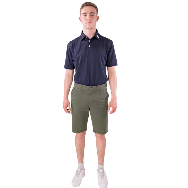 Bermuda Andrew kaki golf homme confort Golf Plus vetement golf tenue golf