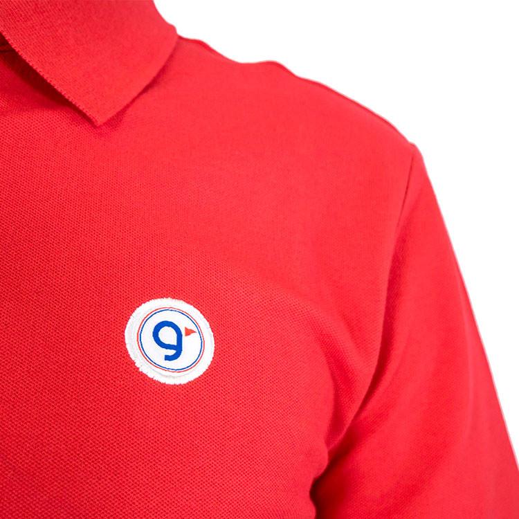 GREEN'S POLO BIO COTON ROUGE HOMME GOLF PLUS logo