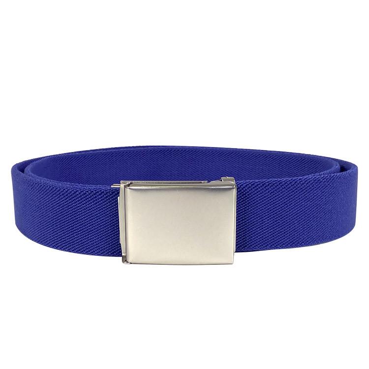 Green's - ceinture coton greens bleu
