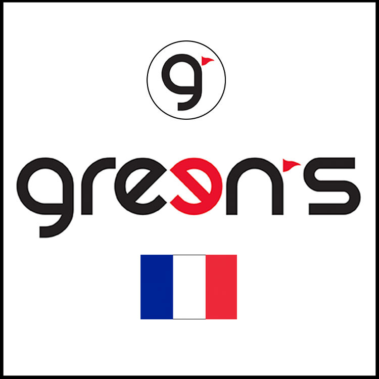 Green's marque golf française france francais