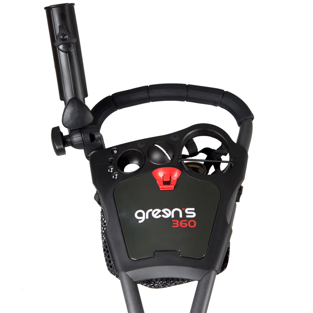 GREENS - CHARIOT 360-3 ROUES CHARCOAL/ROUGE