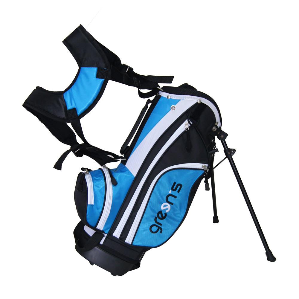 GREENS - SAC JUNIOR noir/balnc/bleu 100 à 115 cm