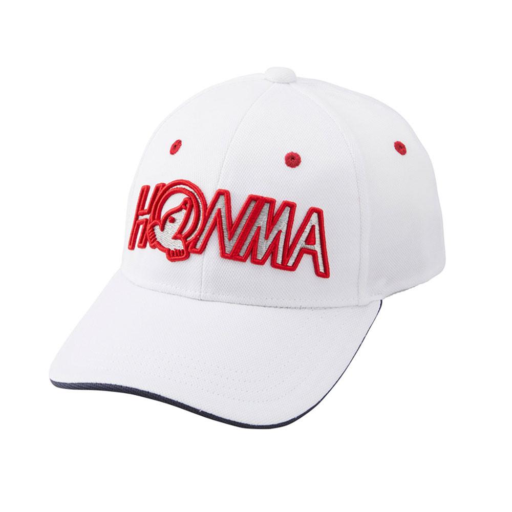 HONMA - CASQUETTE  BLANC
