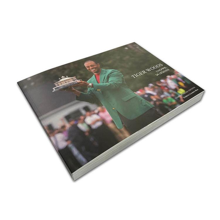 Livre Tiger Woods L'Homme, Sa Légende, Golf Plus