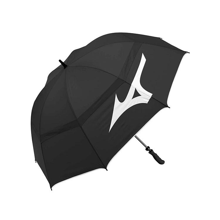 Mizuno Parapluie Tour Twin Canopy Noir/Blanc Golf Plus