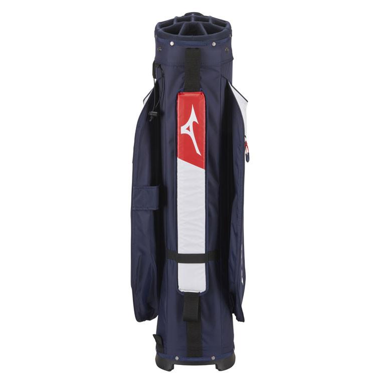 Mizuno Sac BR DRI Waterproof Marine/Blanc Dos Golf Plus