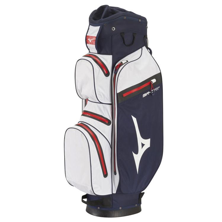 Mizuno Sac BR DRI Waterproof Marine/Blanc Profil Golf Plus