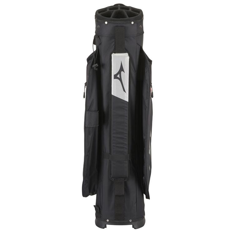 Mizuno Sac BR DRI Waterproof Noir/Argent Dos Golf Plus