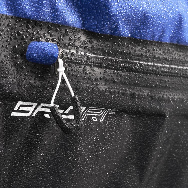 Mizuno Sac BR DRI Waterproof Noir/Argent Zoom Zip Golf Plus