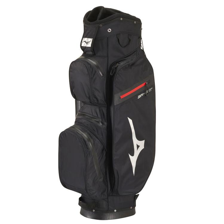 Mizuno Sac BR DRI Waterproof Noir/Argent Profil Golf Plus