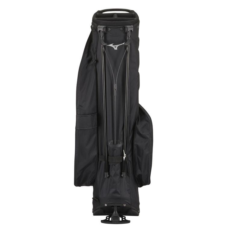 Mizuno Sac BR-DRI Trepied Waterproof Noir/Argent Dos Golf Plus