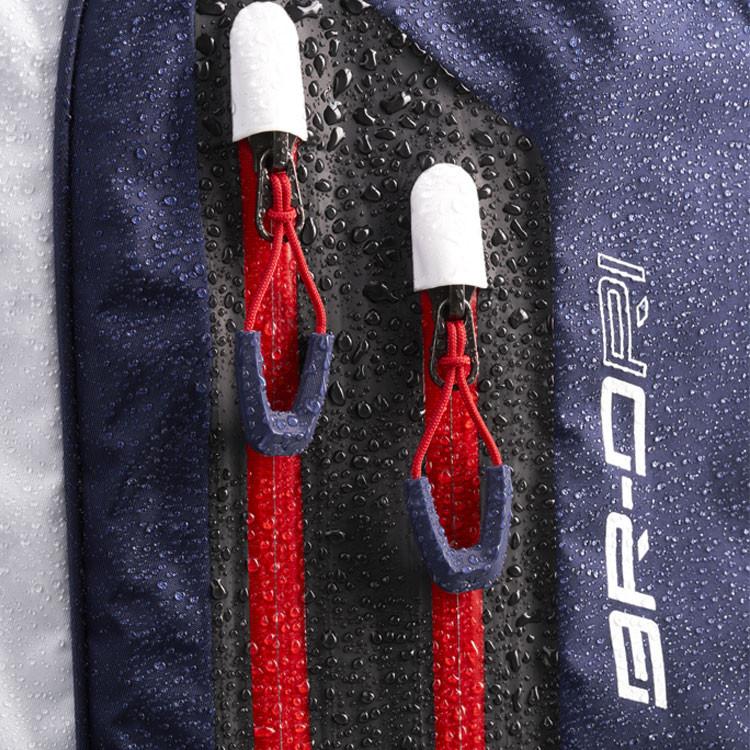 Mizuno Sac BR-DRI Trepied Waterproof Noir/Argent Zoom Zip Eau Golf Plus