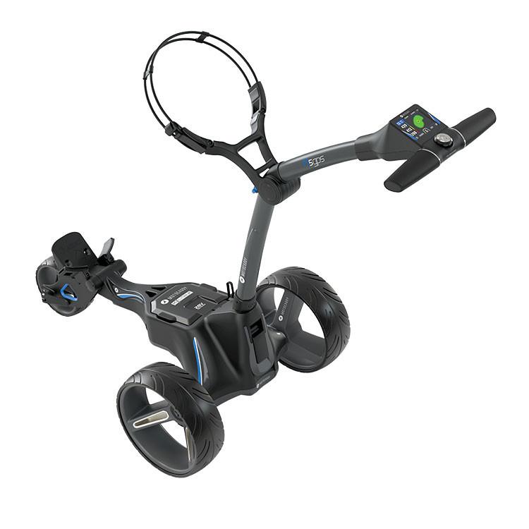 MOTOCADDY - CHARIOT M5 GPS LITHIUM GRAPHITE 1