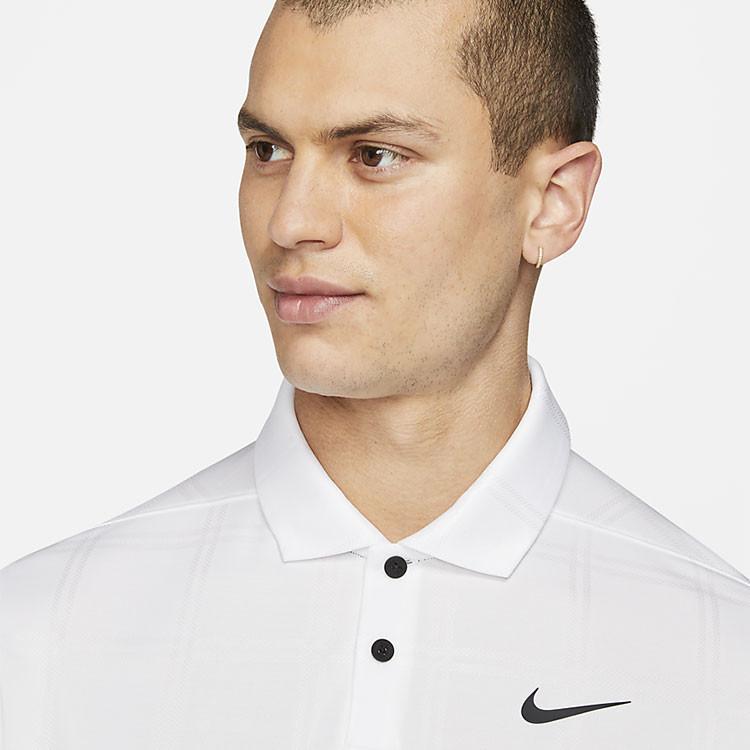 Nike Polo Dri-Fit Vapor Blanc Homme Golf Plus