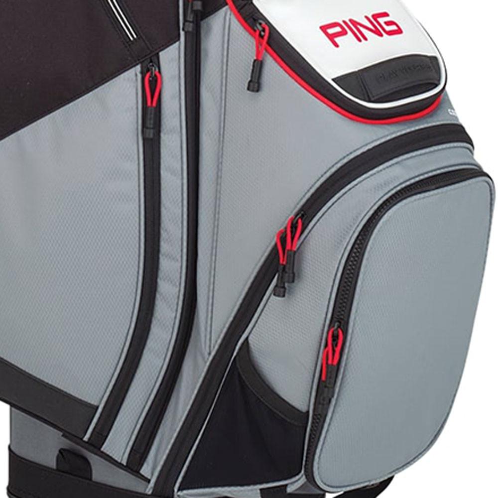 PING - SAC PIONEER CART GRIS/BLANC/ROUGE