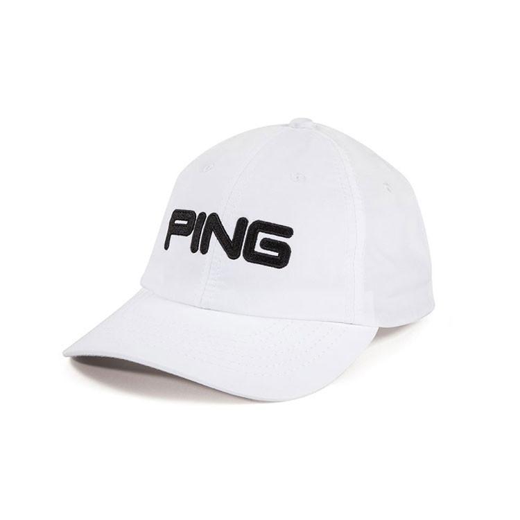 Ping Casquette Junior Tour Light Blanc Noir Golf Plus