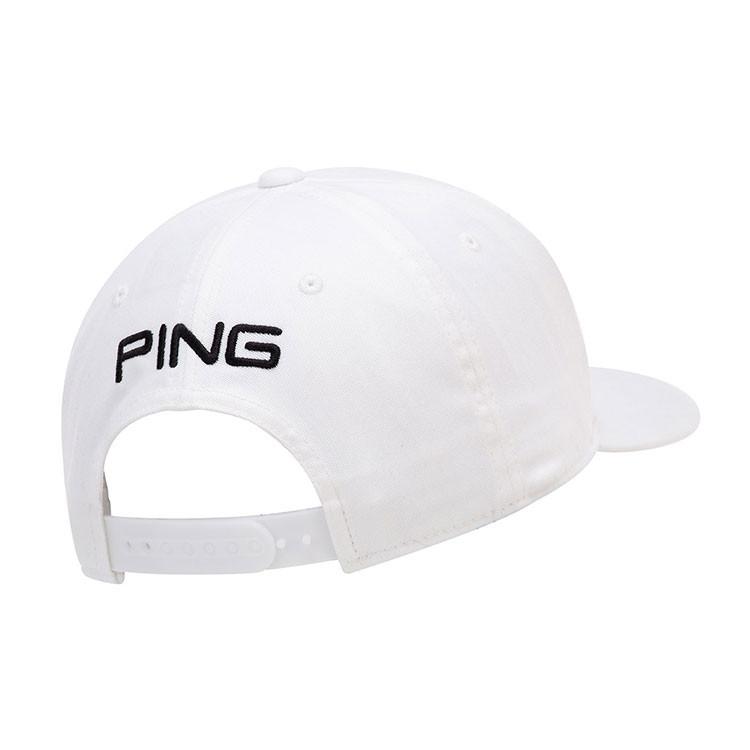 Ping Casquette Tour Classic Blanc/Noir Golf Plus