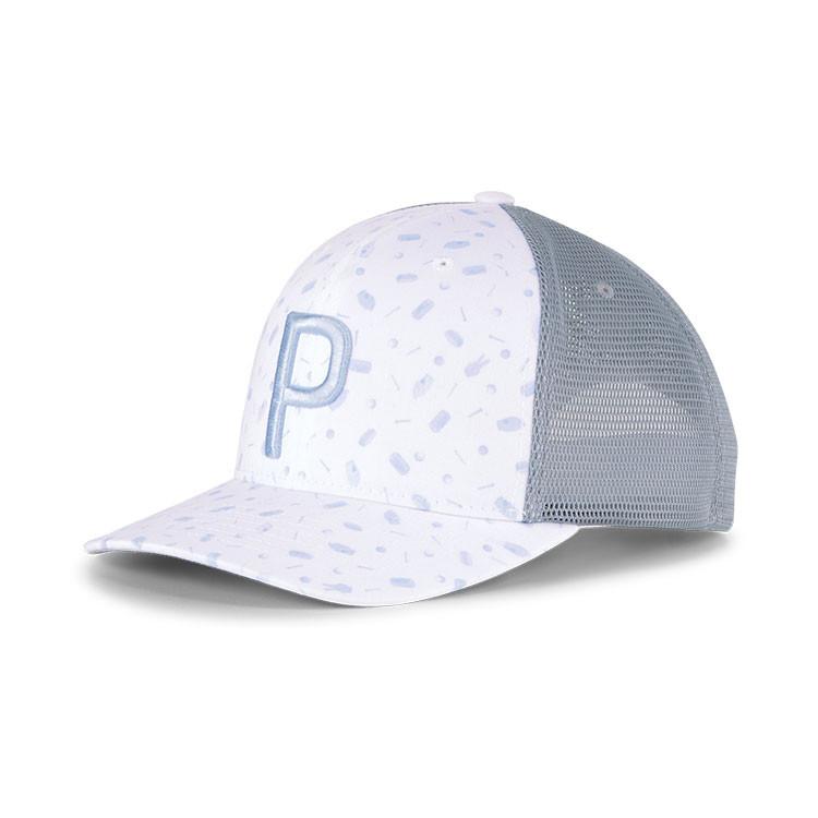 Puma Casquette Snackshack Trucker Homme Blanc/Bleu Avant Golf Plus
