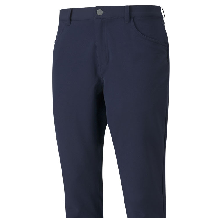 Puma Pantalon Jackpot Utility Bleu Gros Plan De Face Golf Plus