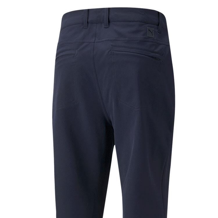 Puma Pantalon Jackpot Utility Bleu Gros Plan De Dos Golf Plus