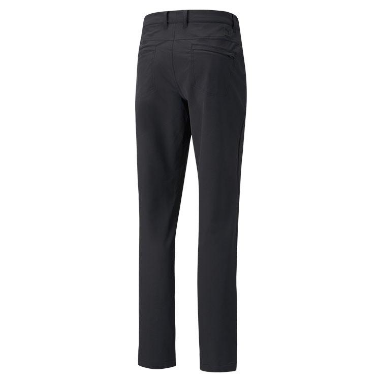 Puma Pantalon Jackpot Utility Noir De Dos Golf Plus
