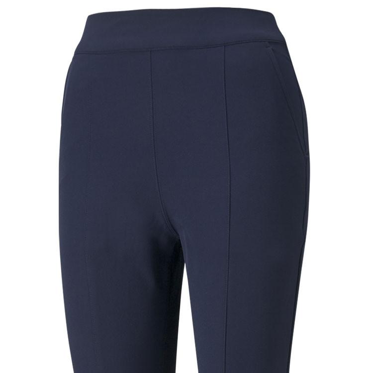 Puma Pantalon Utility Femme Chaud Bleu Gros Plan Golf Plus