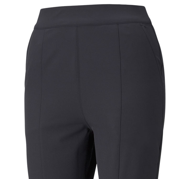 Puma Pantalon Utility Femme Chaud Noir Gros Plan Golf Plus