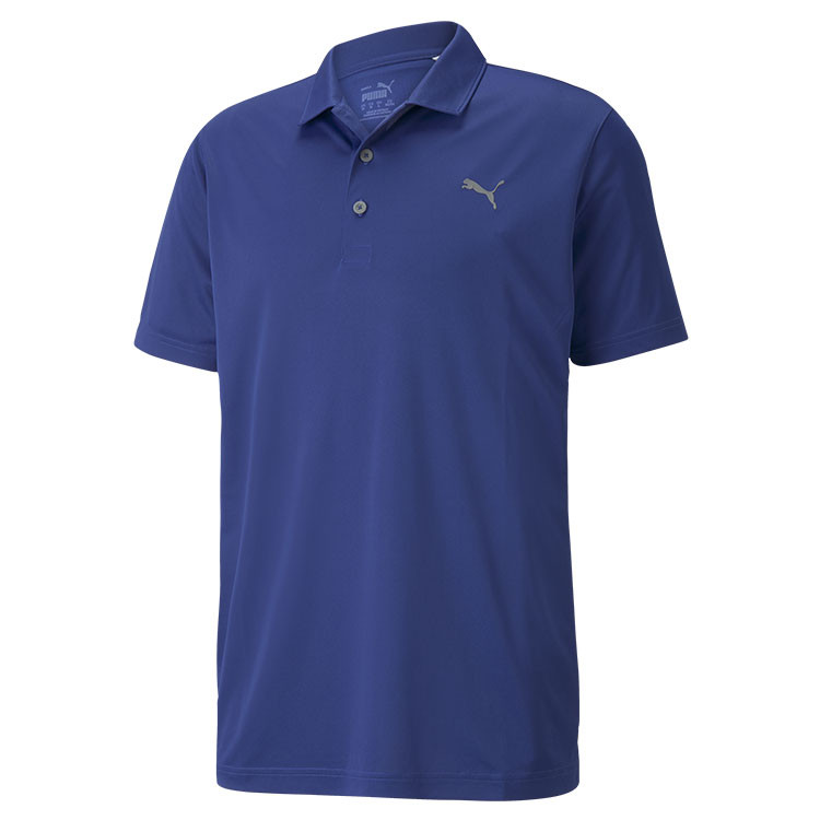 Puma Polo Rotation Homme Uni Bleu Grand Angle Golf Plus