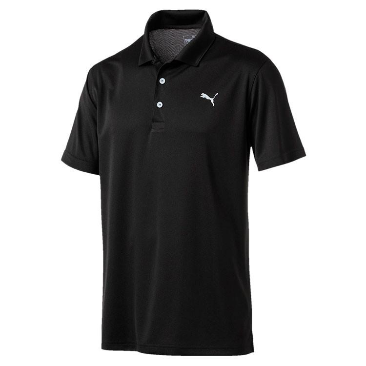 Puma Polo Rotation Homme Uni Noir Grand Angle Golf Plus