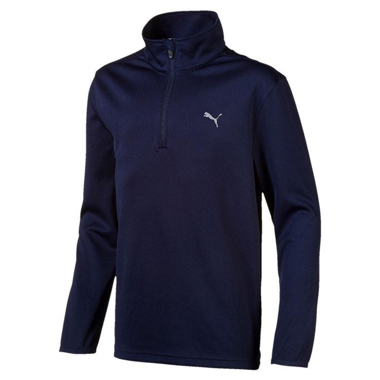 Puma Sweat 1/4 Junior Marine Grand Angle Golf Plus
