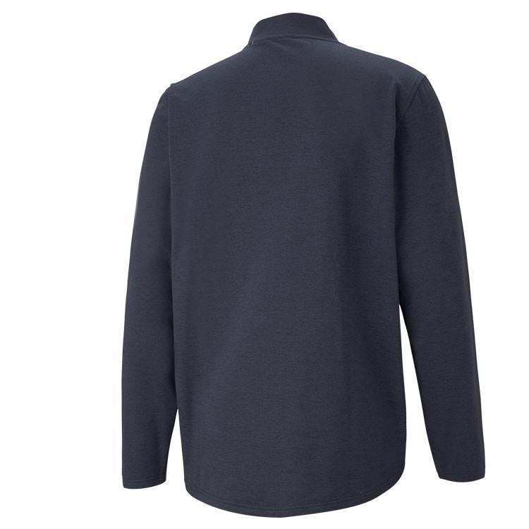 Puma Sweat Cloudspun SLTH Zip 1/4 Bleu Homme De Dos Golf Plus