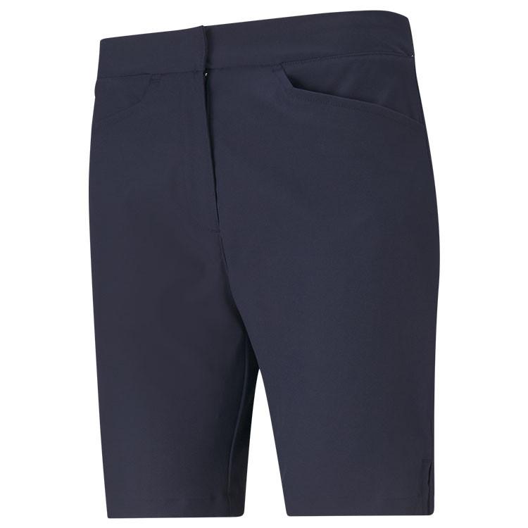 Puma Bermuda Uni Bleu Marine Femme Golf Plus