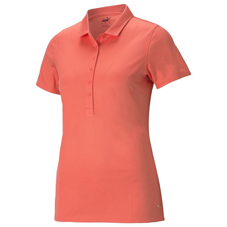 Puma Polo Rotation Uni Orange Femme Golf Plus