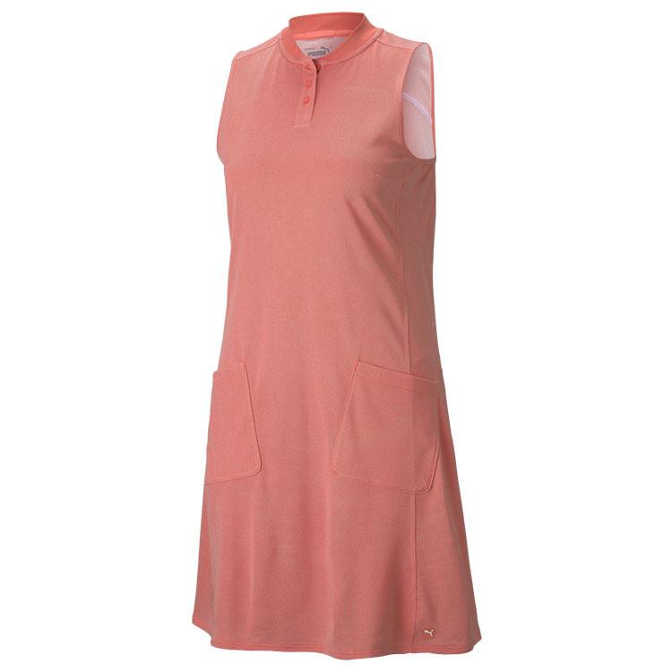 Puma Robe Farley Sm Orange Femme Golf Plus