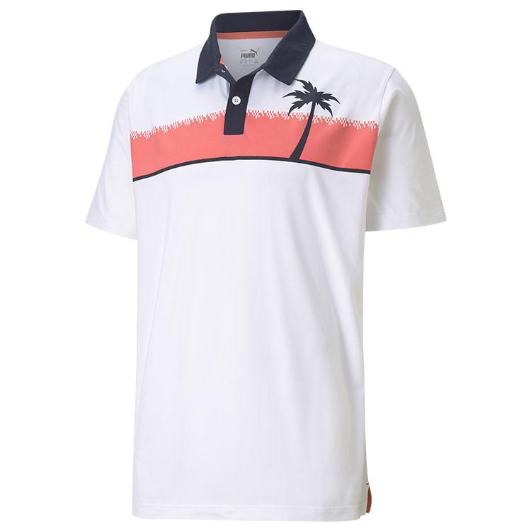 Puma Polo Hana Blanc Homme Golf Plus