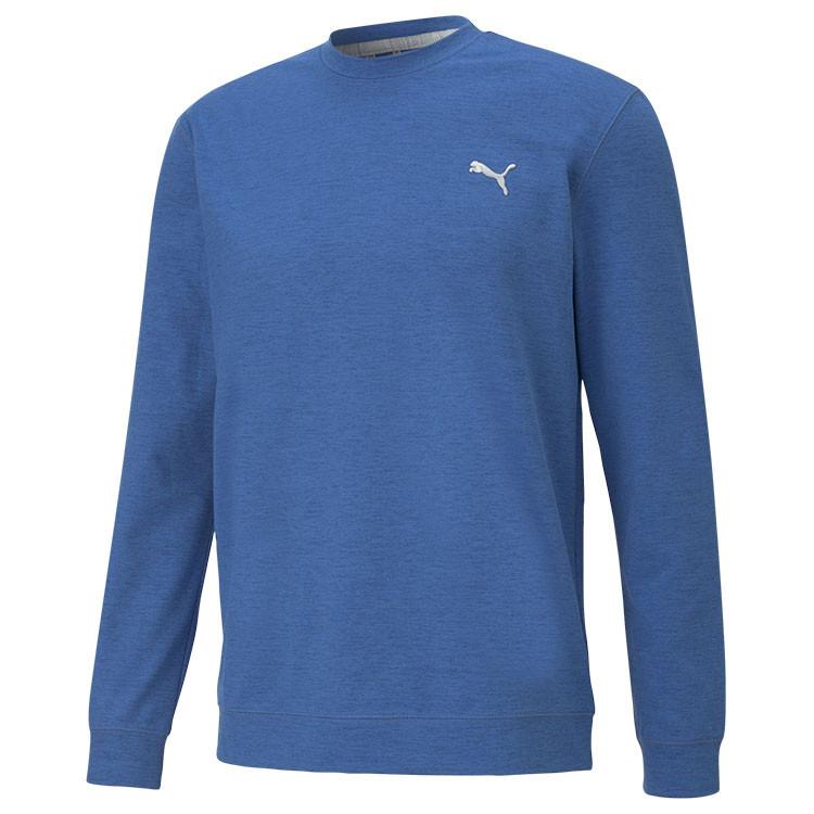 Puma Sweat Col Rond Bleu Roi Homme Golf Plus