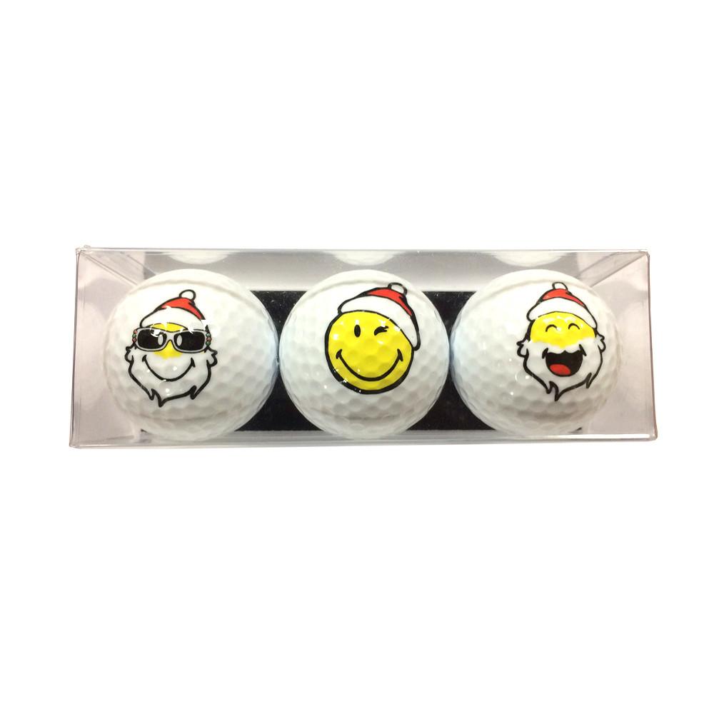 balles de golf smiley