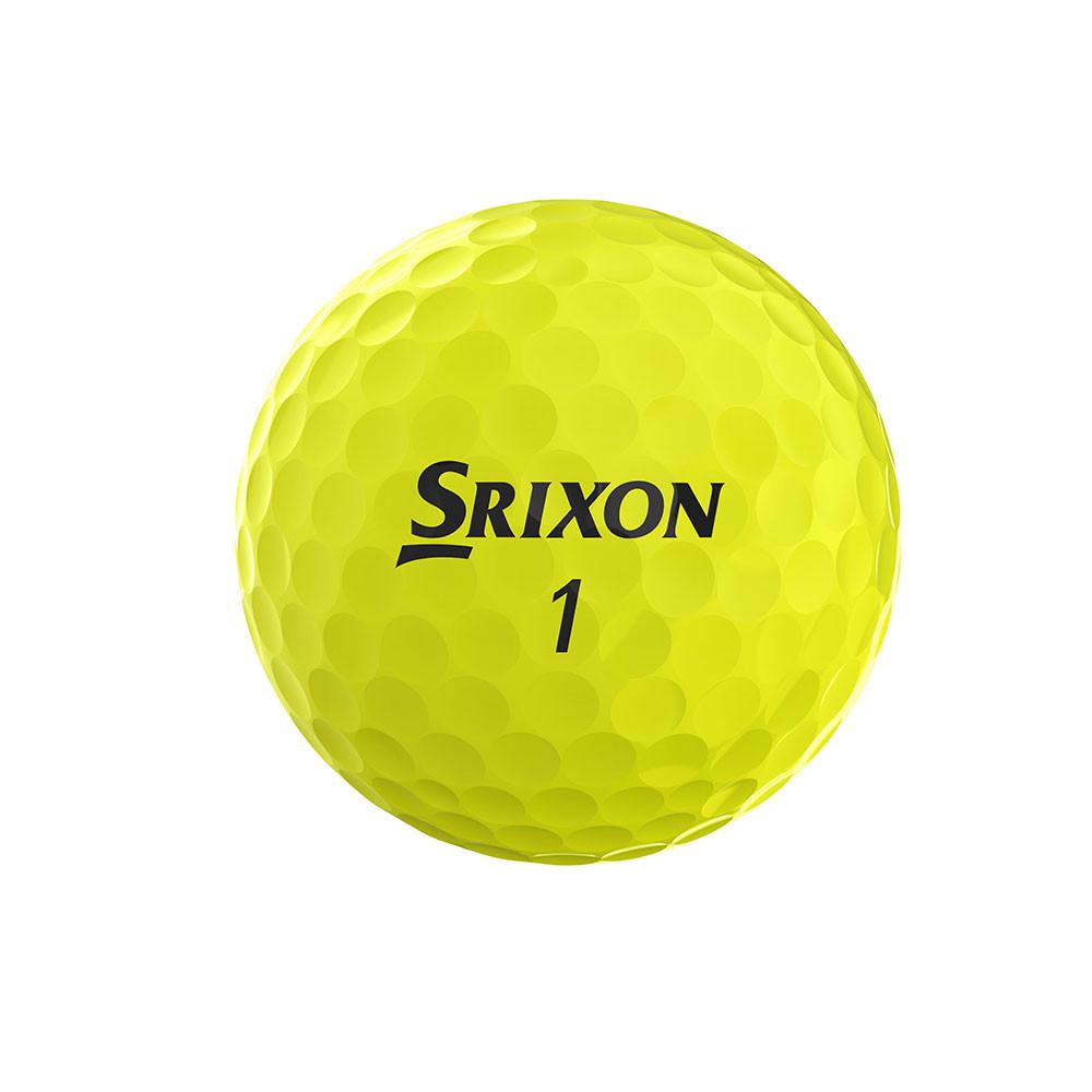 SRIXON - BALLES DE GOLF AD 333 jaune