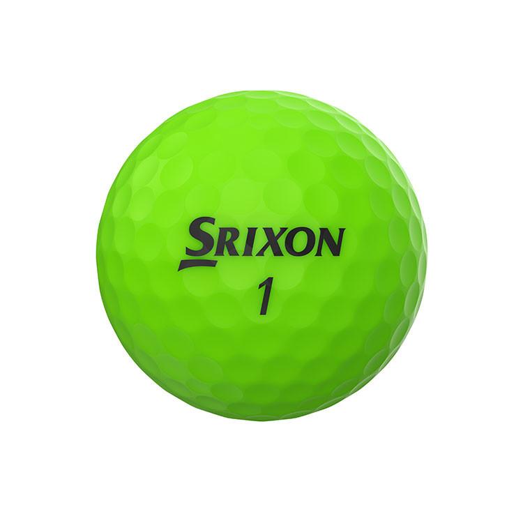 SRIXON - BALLES DE GOLF SOFT FEEL BRITE VERT 1